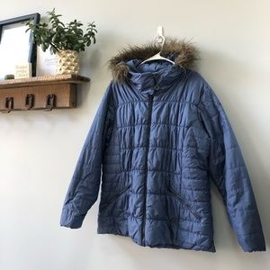 Columbia Blue Thermal Coil Jacket